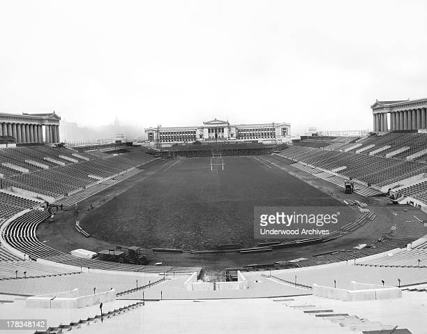 Soldier Field in Chicago where the Army football team will meet the Navy team in three weeks Chicago Illinois November 3 1926