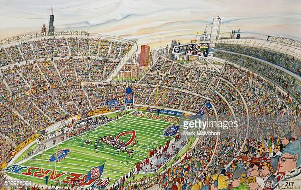 Soldier Field Stadium, Chicago by Mark McMahon