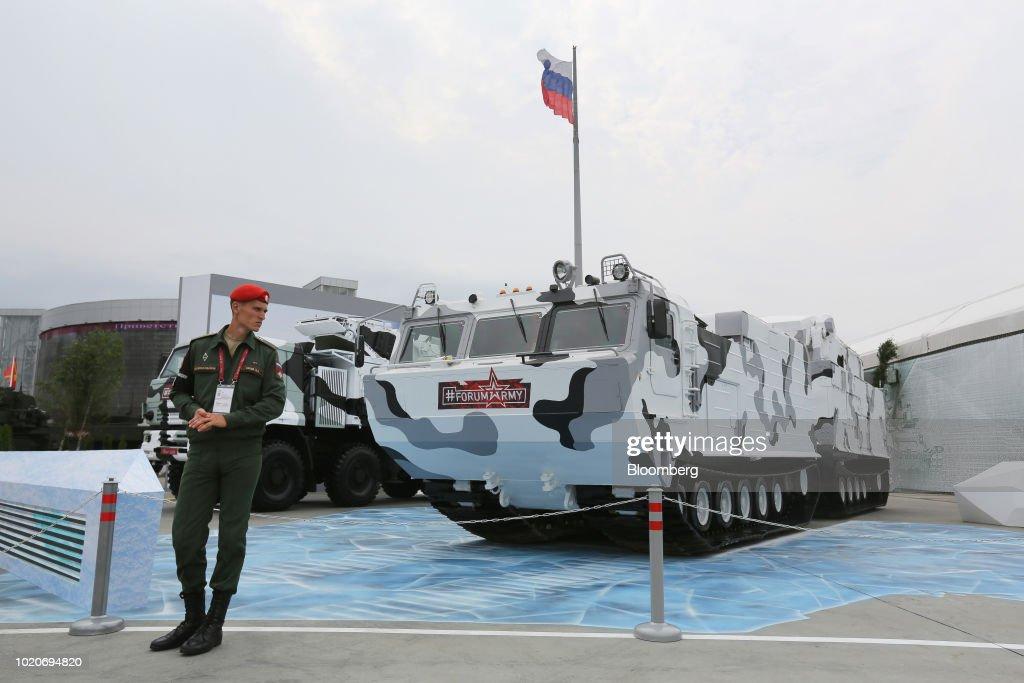 International Military-Technical Forum ARMY 2018 Expo
