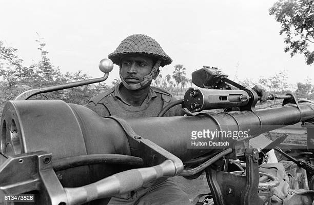 A soldier in the East Pakistan campaign during the war with India