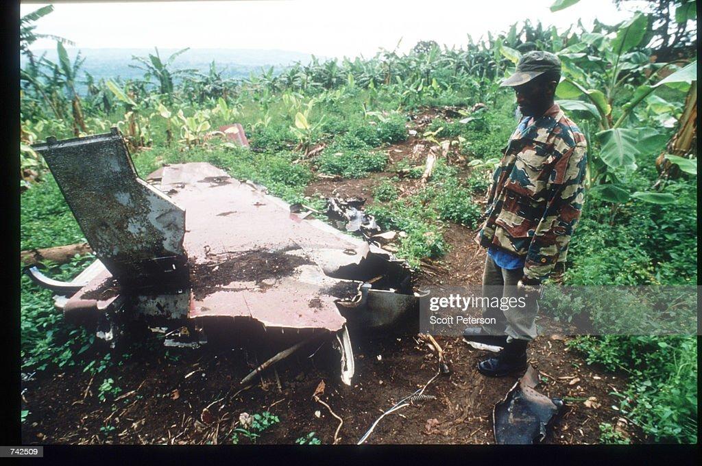 The Horror Of Rwanda's Civil War : News Photo