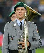 kaiserslautern germany soldier looks during fifa
