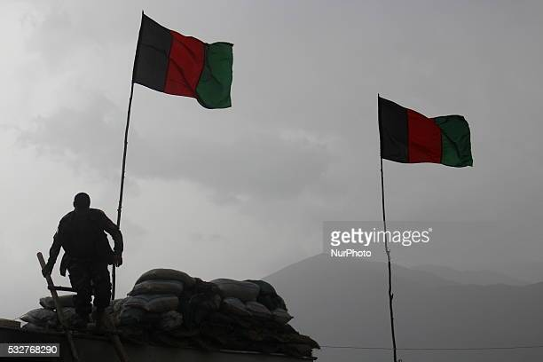 Soldier of Afghan National Security Force in Badakhshan Province on May 19, 2106. Afghan National Army soldiers stand at the forefront of the battle...