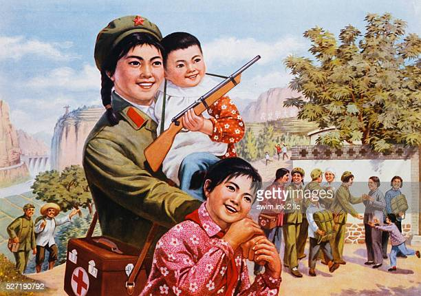 Soldier People One Family Poster