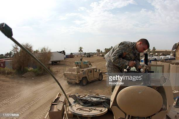 apc soldier - iraq stock pictures, royalty-free photos & images