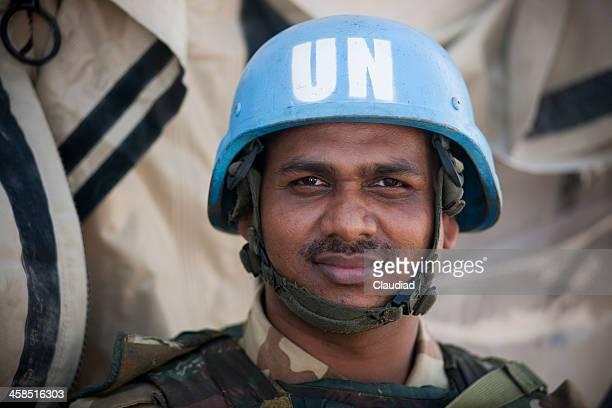 un soldier - verenigde naties stockfoto's en -beelden
