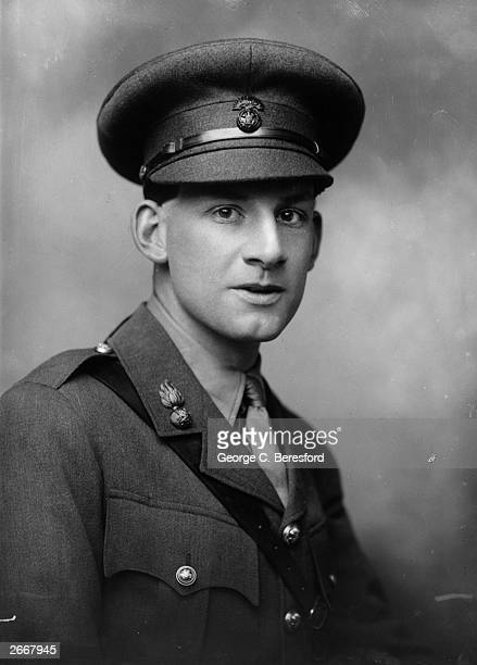 Soldier, poet and author Siegfried Sassoon most famous for his war poetry.