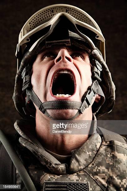 uns soldat schreien - uniform stock-fotos und bilder