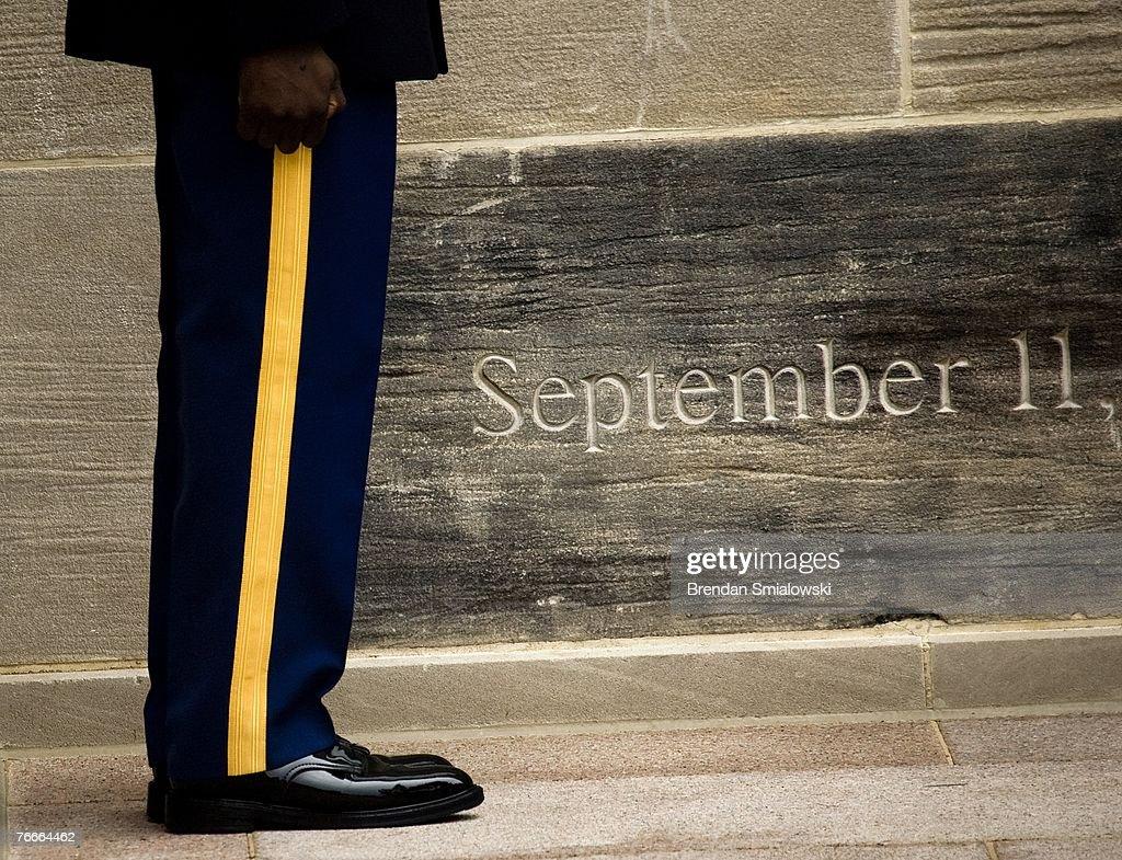 Gates Leads Pentagon Memorial Observance Of 9/11 : News Photo