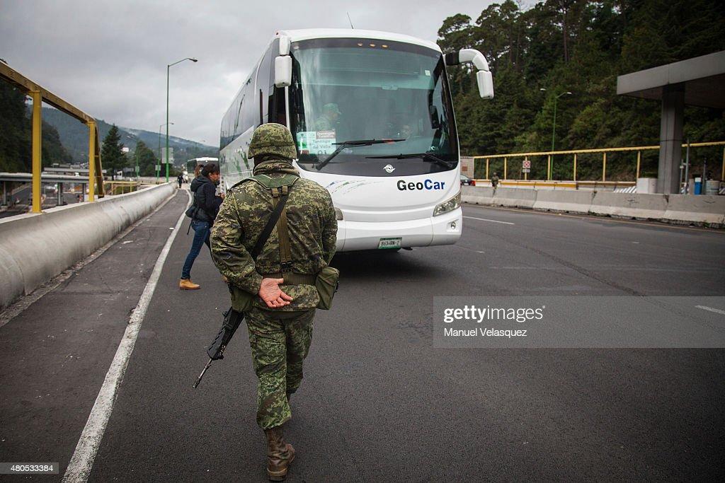 """Mexican Drug Trafficker Joaquin Guzman Loera """"El Chapo"""" EEscapes From Prison : News Photo"""