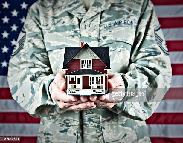 us soldier with real estate - us air force stock pictures, royalty-free photos & images