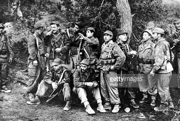 FLN soldiers 19541962 France Algerian War of Independence