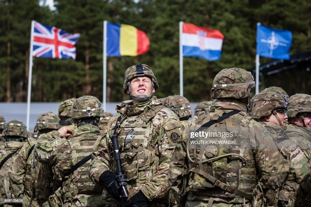 CORRECTION-POLAND-NATO-DEFENCE : News Photo