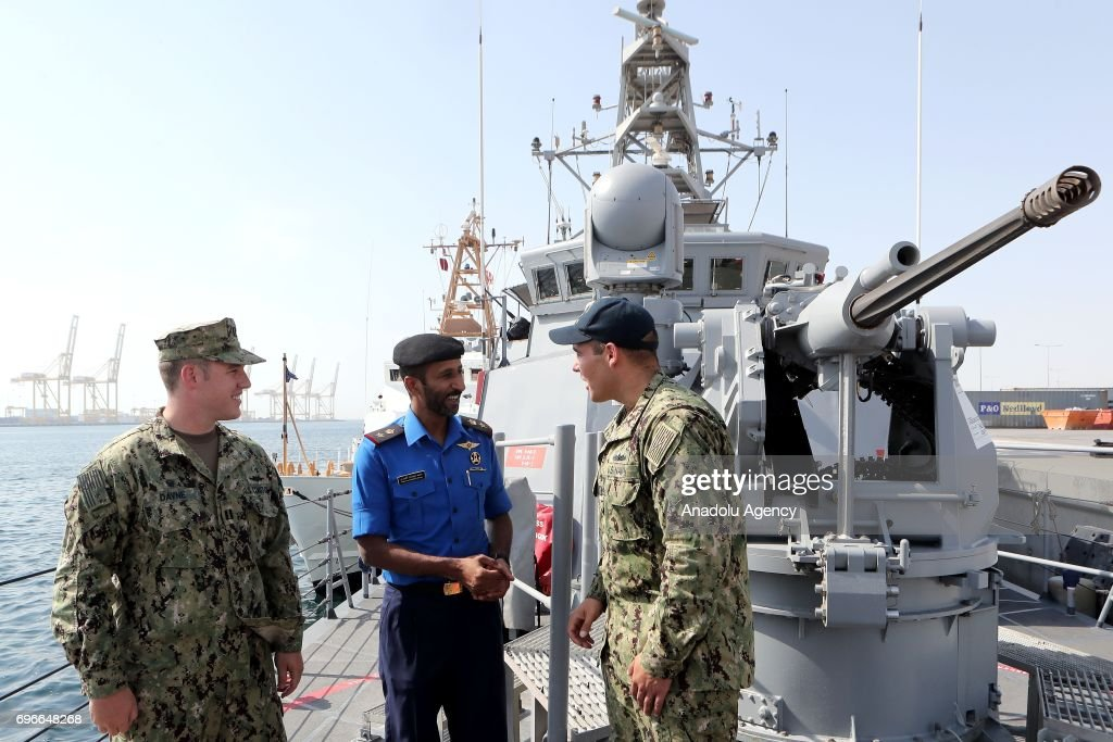 Joint naval exercise by USA and Qatar  : News Photo