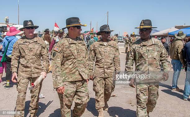 soldados en pancho villa evento - pancho villa fotografías e imágenes de stock