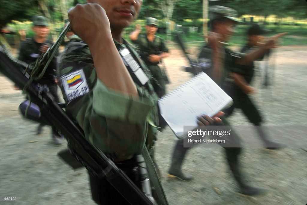 Inside FARC Country In Colombia : News Photo