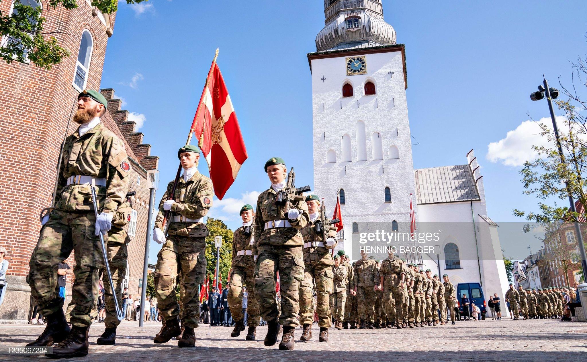 DENMARK-ROYALS-FLAG DAY : News Photo