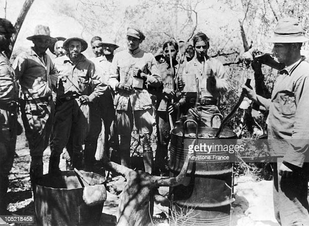 Soldiers Drinking Mate Around A Barrel In Paraguay Between 1932 And 1935 During The Gran Chaco War Paraguay Was Then At War Against Bolivia For A...