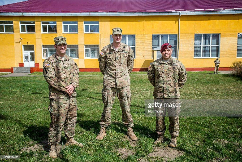 Ukrainian-US Exercise Fearless Guardian : News Photo