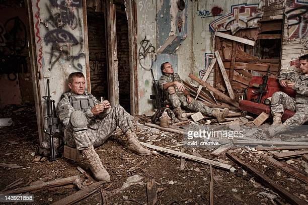 Soldiers Enjoy a Little R&R