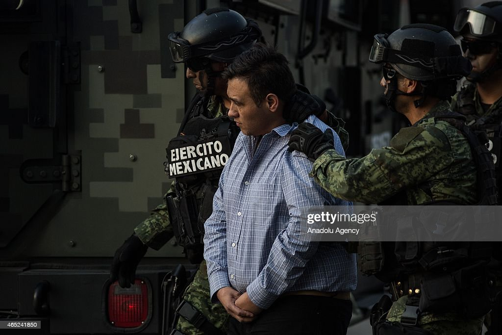 Mexico Capture Los Zetas Drug Cartel Leader : News Photo