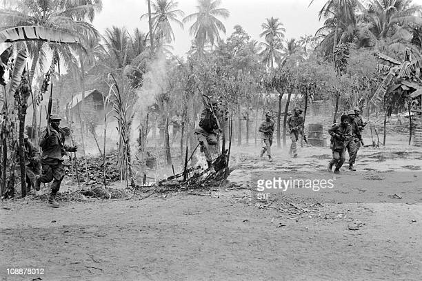 FNLA soldiers fight during the storming of Caxito on August 08 1975 After independence Angola was the scene of an intense civil war from 1975 to 2002...