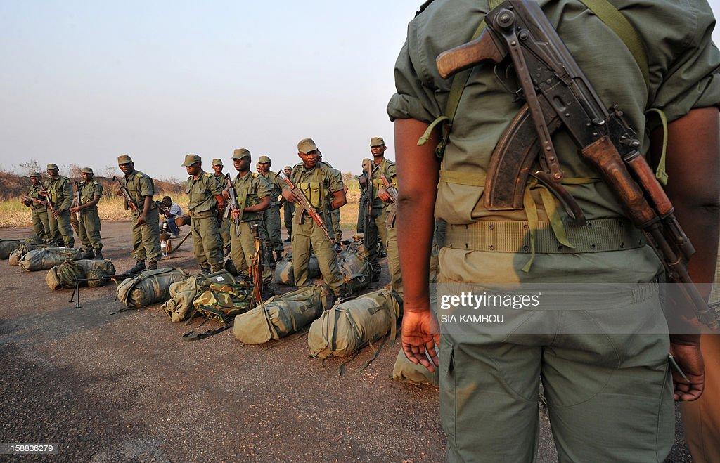 CENTRAFRICA-UNREST-CONGO-SOLDIERS : Nachrichtenfoto