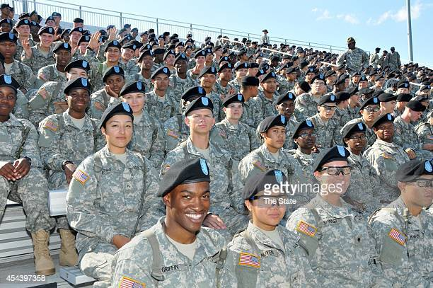 Soldiers from Fort Jackson are on on hand as Benedict meets South Carolina State in the 2014 Palmetto City Classic in Columbia SC on Saturday Aug 30...