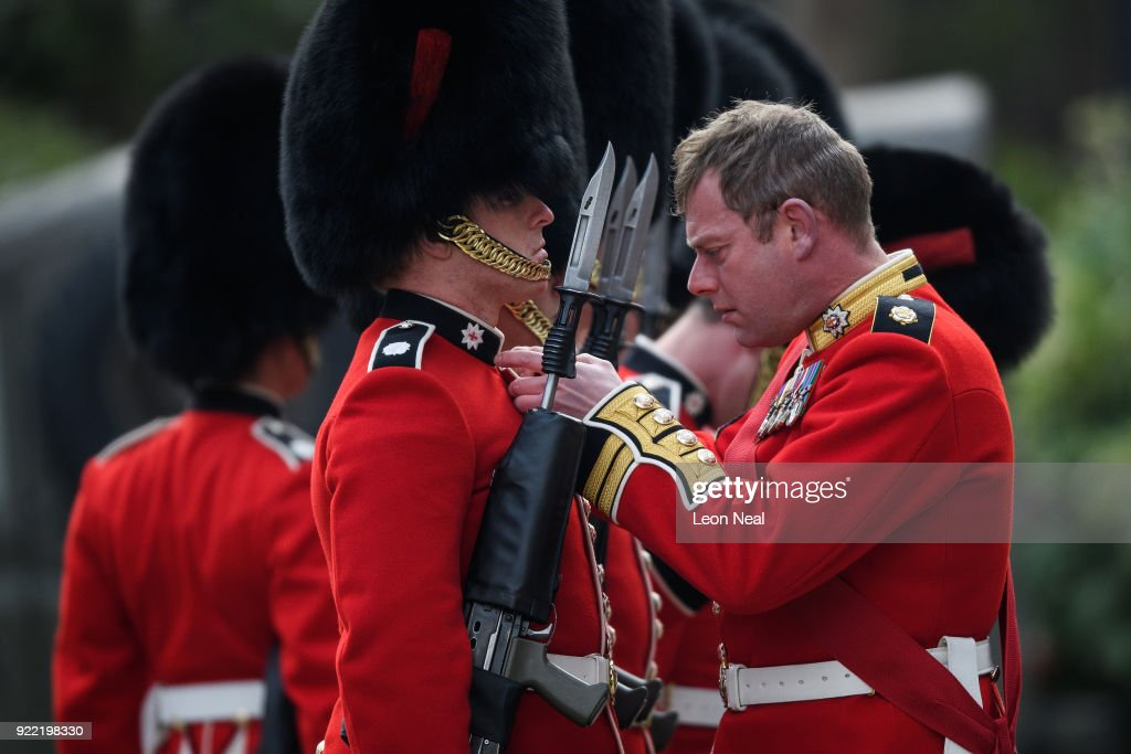 Major General's Inspection Of The 1st Battalion Coldstream Guards