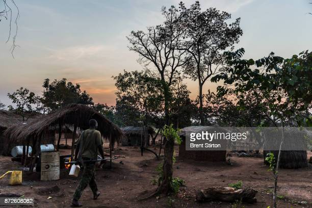 Soldiers from the African Union Ugandan Armed forces UPDF base at Mboki Central African Republic The Ugandan contingent based here are focused on the...