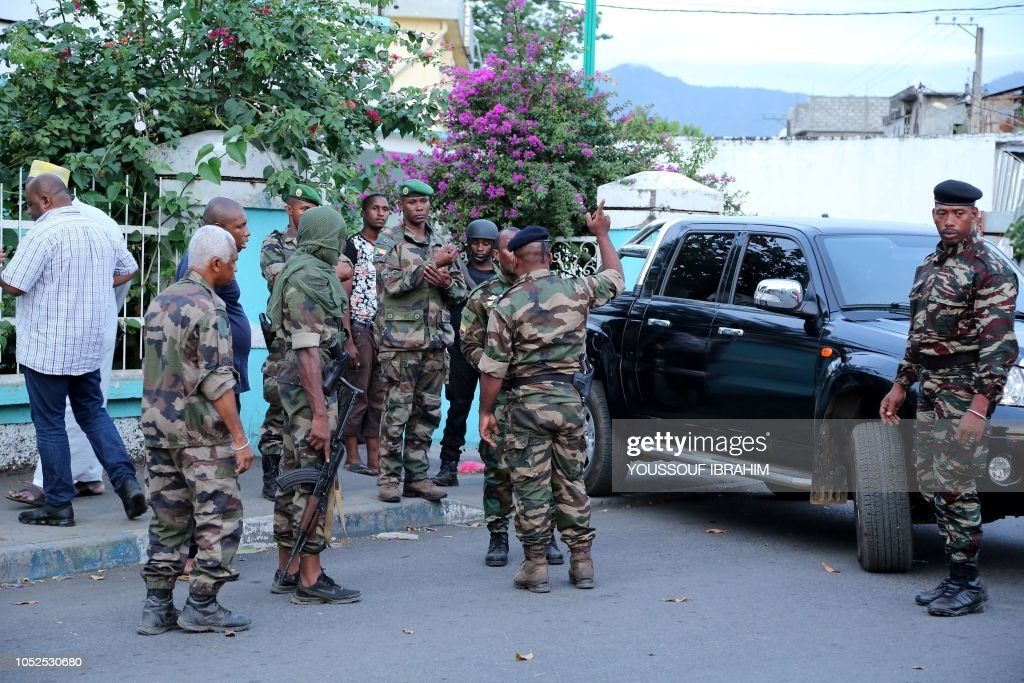 COMOROS-POLITICS-UNREST : News Photo