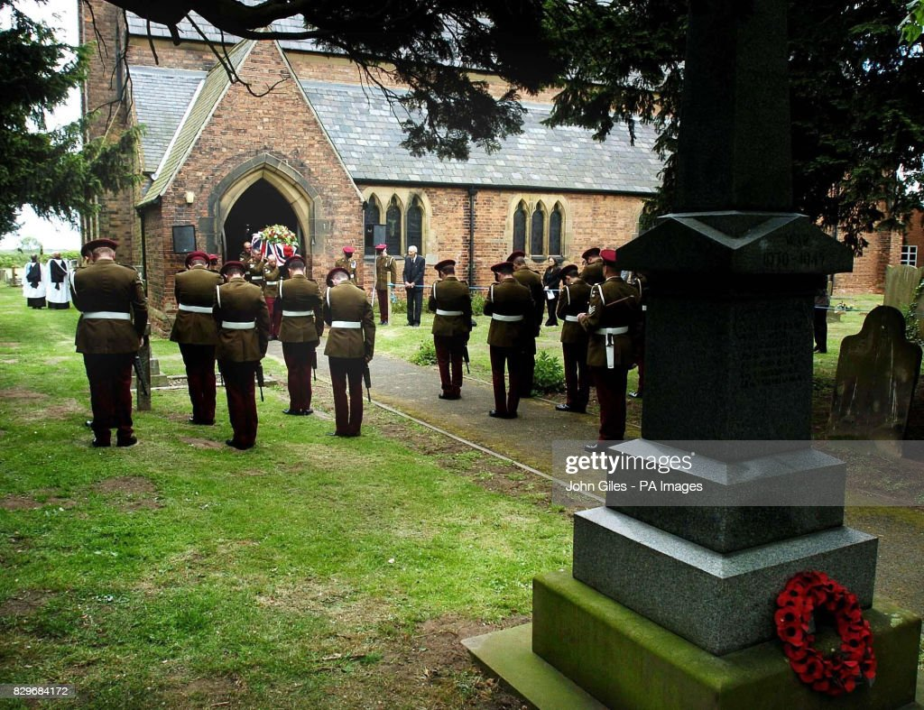 Lance Corporal Alan Brackenbury Funeral Pictures | Getty Images