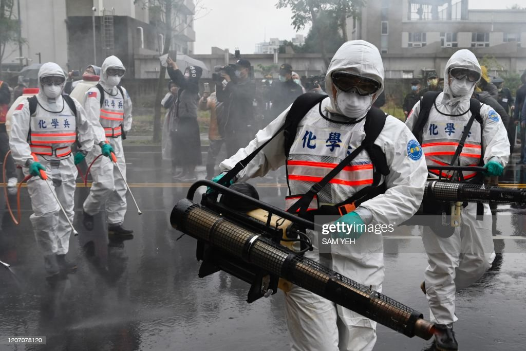 TAIWAN-CHINA-HEALTH-VIRUS : News Photo