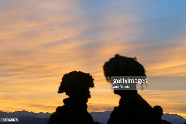 Soldiers From The Princess Patricia's Canadian Light Infantry Conduct Exercises At Bagram Air Base May 2, 2002 In Afghanistan. The Canadian Soldiers...