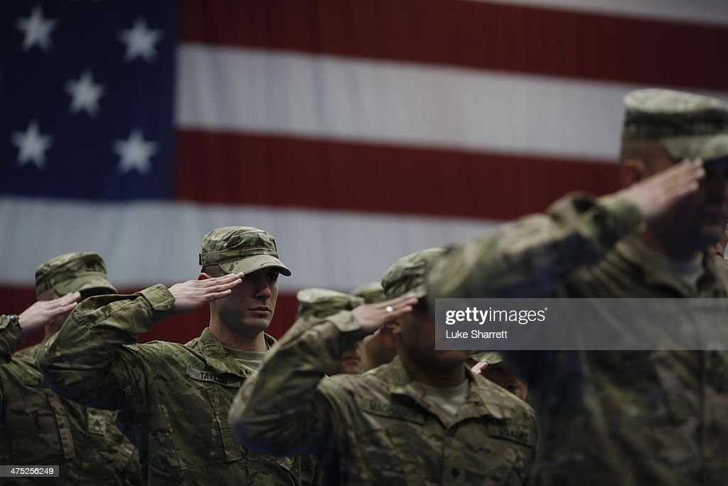 1st Infantry Division Soldiers Return Home To Fort Knox From Afghanistan : News Photo