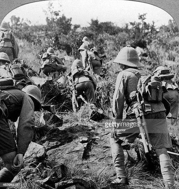 Soldiers in East Africa c19141918 East Africa saw fighting between the British and Germans during World War I with both nations having colonies there...