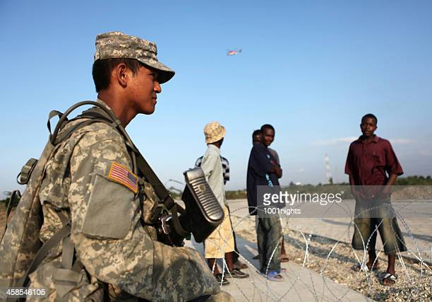 US Soldiers in Haiti