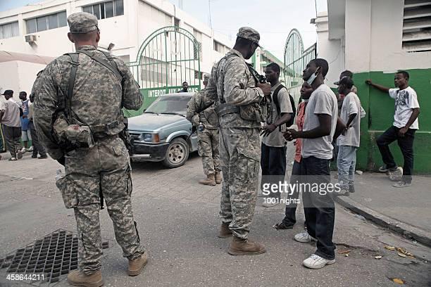 Uns Armee in Haiti