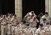 Service for soldiers killed in Iraq