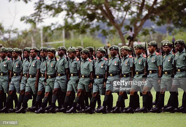 Soldiers of Pacific Islands Force Papua New Guinea