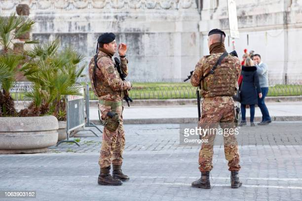 Soldiers of the 1st Grenadiers of Sardinia Regiment in Rome