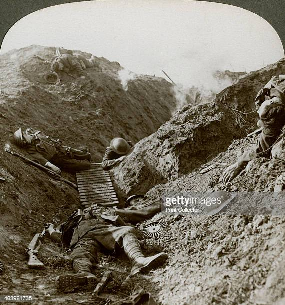 Soldiers of the 5th Army killed during the German offensive of 1918 Albert France The deployment of reinforcements from the Eastern Front enabled the...