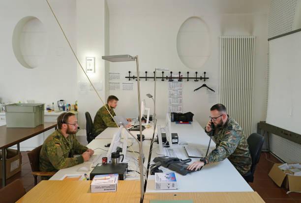 DEU: Bundeswehr Assists Health Authorities During The Coronavirus Pandemic