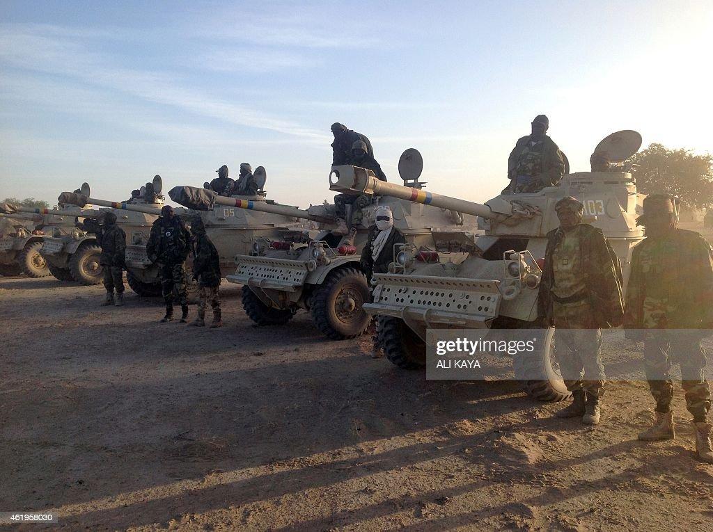 CAMEROON-NIGERIA-CHAD-UNREST-ARMY : News Photo