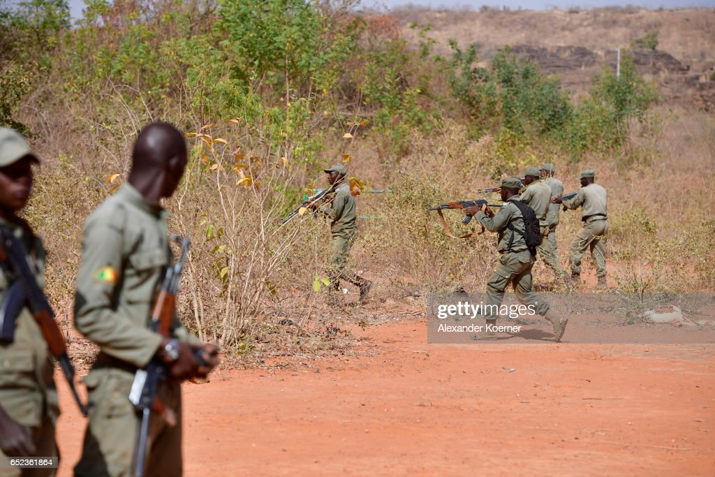 EU Forces Train Malian Soldiers In Fight Against Rebels : News Photo