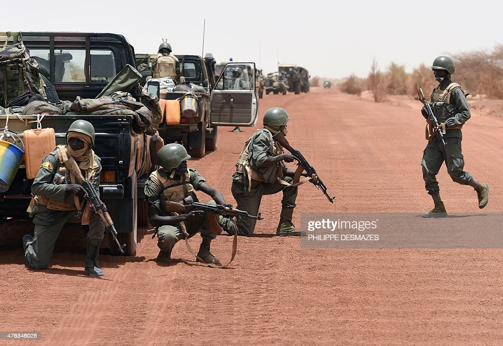 MALI-FRANCE-UNREST-CONFLICT : News Photo