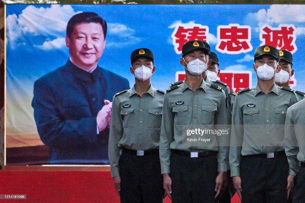 China Slowly Recovers From Coronavirus Outbreak : News Photo