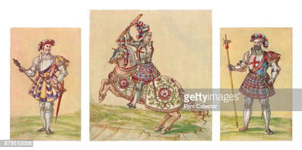Soldiers of the Tudor Period c16th century From Social England Volume III edited by HD Traill DCL and J S Mann MA [Cassell and Company Limited London...