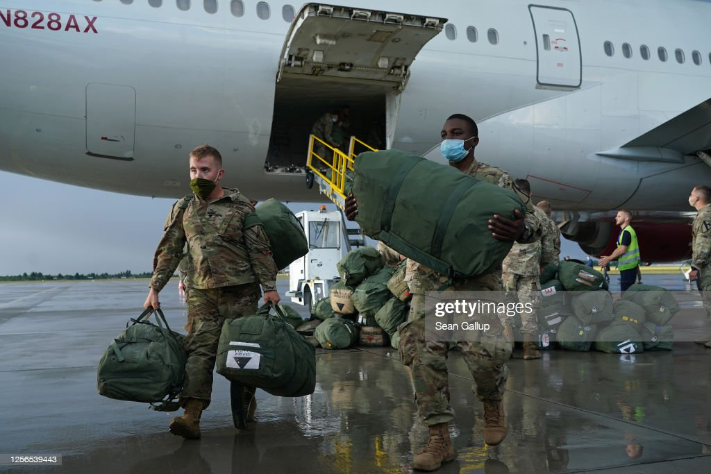 U.S. Troops Arrive In Poland For Military Exercises : News Photo