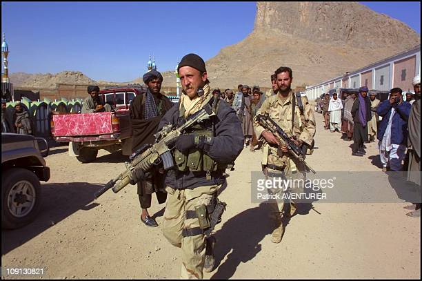 Soldiers Of The US Special Forces Have Entered Mullah Omar'S Private Property The Islamic Leader Had Already Escaped On November 12Th 2001 In...